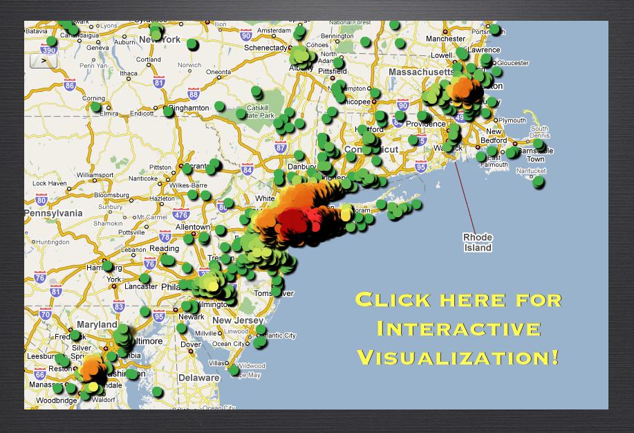 Madoff Map