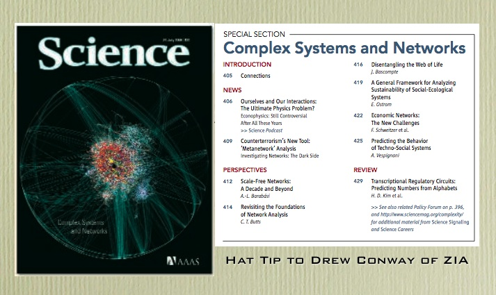 Science: Complex Systems & Networks