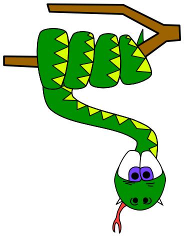 snake-on-tree
