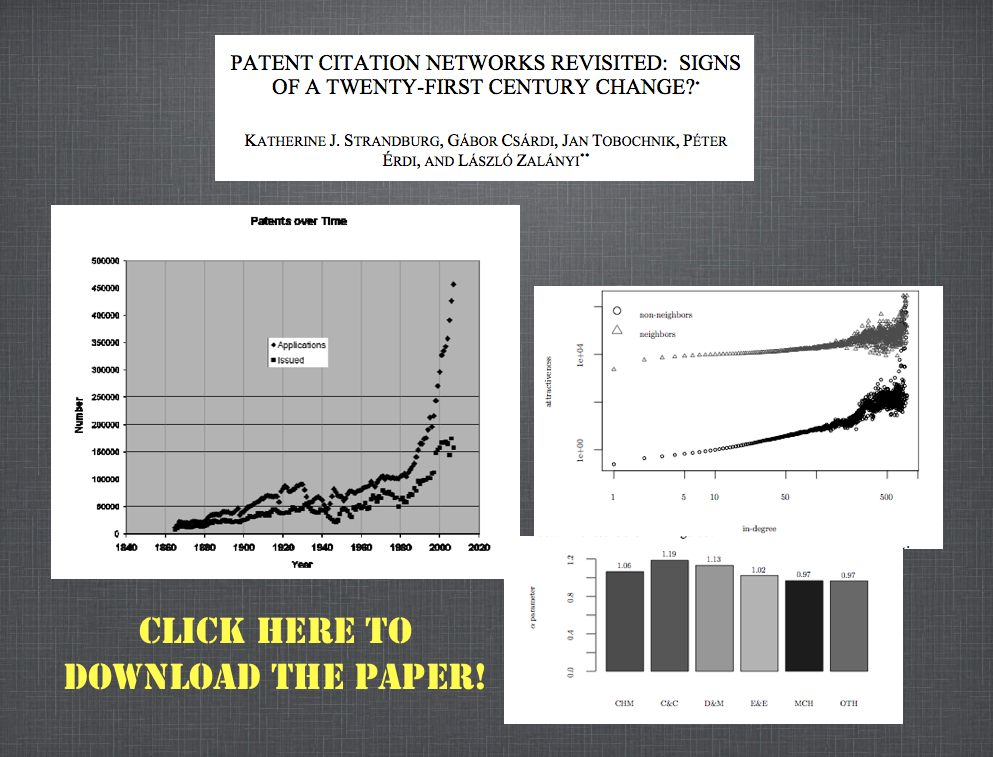 Patents Citation Network