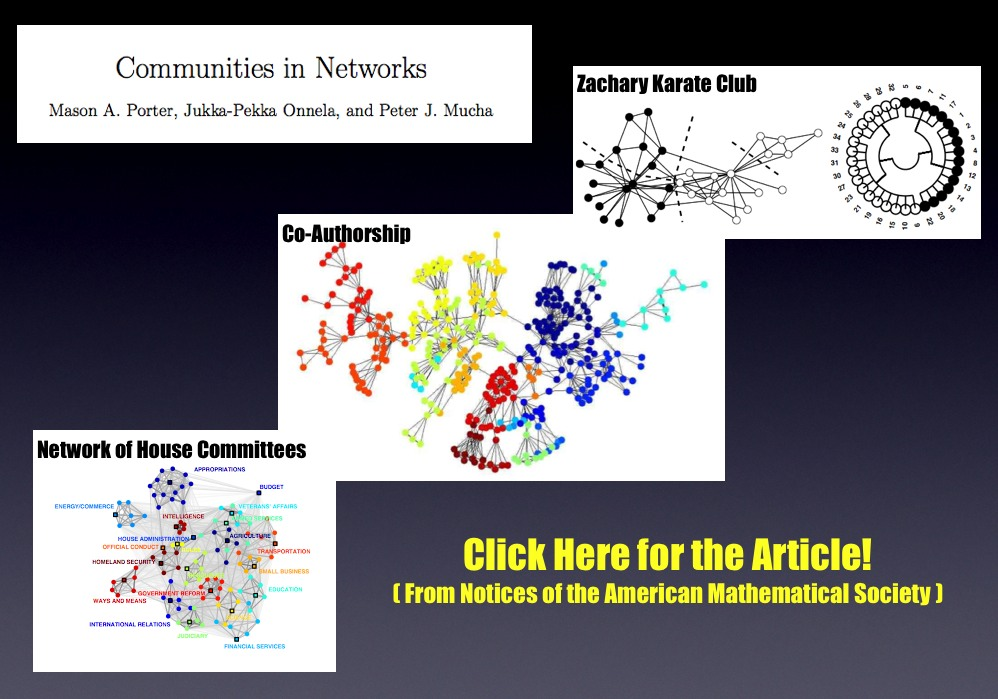 Communities in Networks