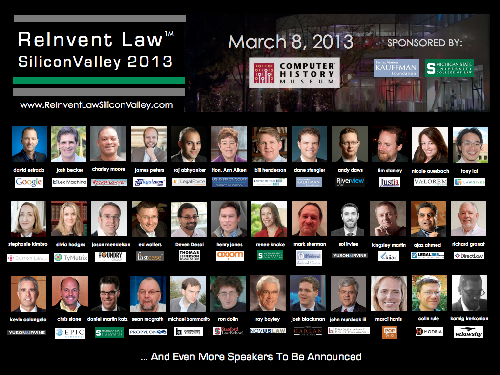 ReInvent_Law_ Silicon_Valley_2013