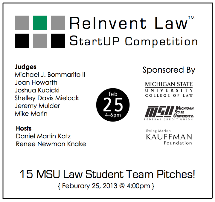 ReInvent Law - Legal Services Start Up Competition - 15