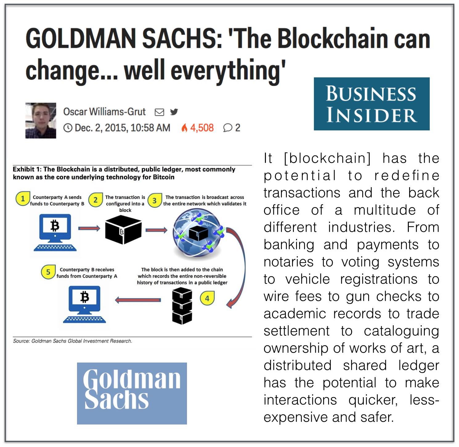 goldman sachs research paper James schneider, phd (917) 343-3149 [email protected] goldman, sachs & co goldman sachs does and seeks to do business with companies covered in its research reports as a result, investors should be aware that the firm may have a conflict of interest that could affect the objectivity of this report.